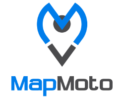 MapMoto Logo Motocross Track Finder